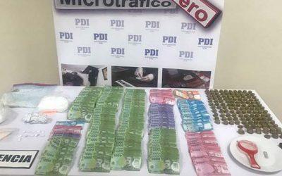 PDI descubre almacén que era utilizado de fachada para comercializar drogas