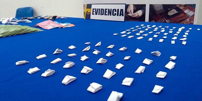 PDI detiene a clan familiar que comercializaba drogas