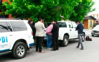 PDI detiene a sujetos tras portonazo frustrado en Rancagua