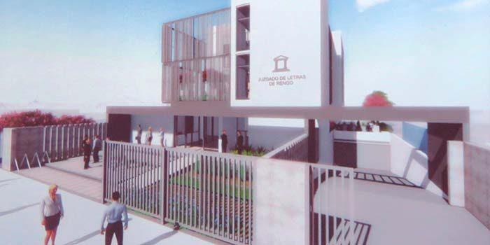 Presentan avances de proyecto de nuevo edificio del primer for Juzgado de letras