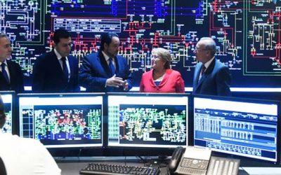 Presidenta Bachelet inaugura obra de transmisión eléctrica más grande de la historia de Chile