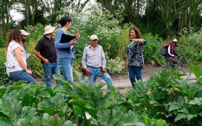 Productores de Cucurbitáceas recibieron la visita de especialista en Fitopatología