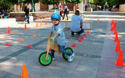 Rancaguinos aprendieron sobre el correcto uso de las ciclovías