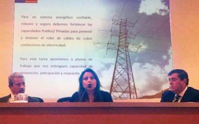 Región de OHiggins expone exitoso resultado en la persecución de robo de conductores eléctricos