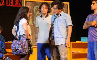 Se inaugura primer festival de teatro escolar en Rengo