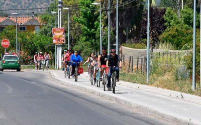 Se inaugura red de ciclovías de alto estándar en San Vicente junto a la comunidad