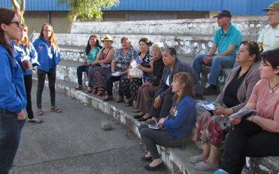 Sectores vulnerables de la comuna de Rengo trabajan para prevenir el conflicto vecinal