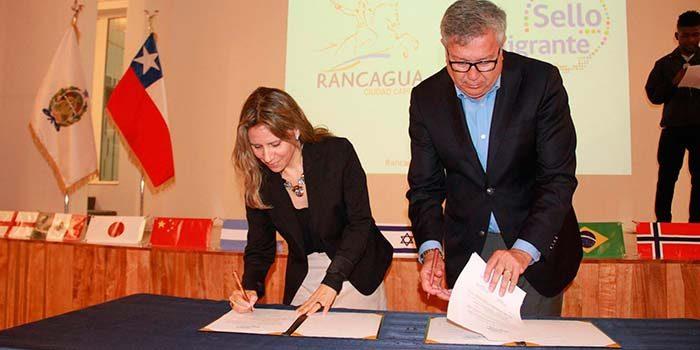 Sello Migrante reafirma compromiso de Rancagua con la inclusión y no discriminación