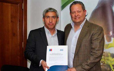 Seremi de Agricultura firma acuerdo de cooperación con organismo internacional