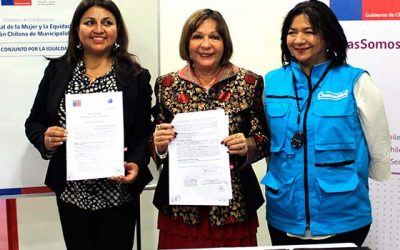Sernameg y Asociación Chilena de Municipalidades suscriben convenio de colaboración