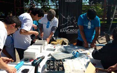 Tres innovadoras ideas de concurso Impacta Seguridad son puestas a prueba en Rancagua