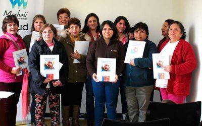 Usuarios son orientados en primera versión del Taller de Enfermedades Crónicas de Salud Machalí