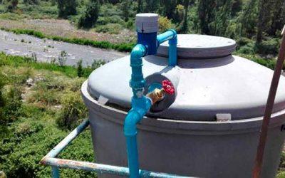 Vecinos del sector de pueblo hundido cuentan con agua potable