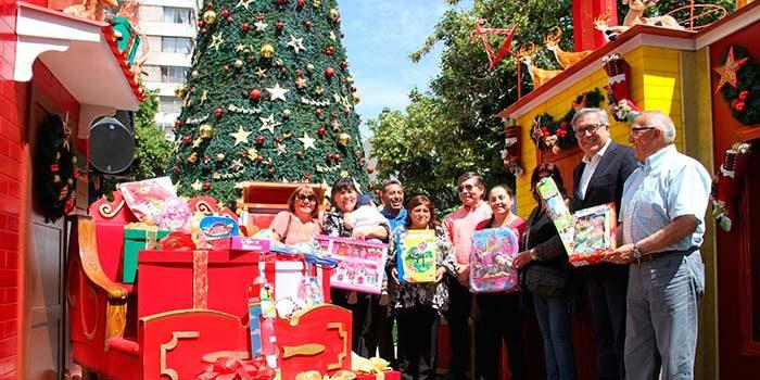 Alcalde de Rancagua anuncia la entrega de cerca de 39 mil juguetes a niños en esta Navidad