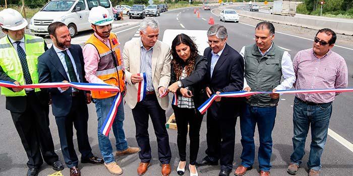 Alcalde de San Fernando resalta beneficios a la seguridad vial del primer tramo de la doble vía de la ruta 90