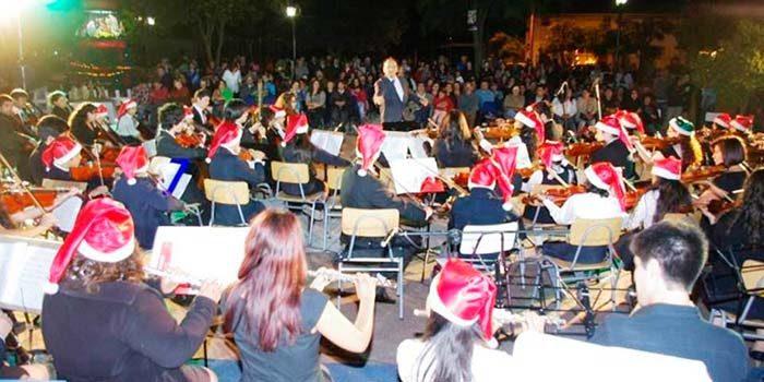 Alcaldesa de Palmilla invita a presenciar conciertos de navidad