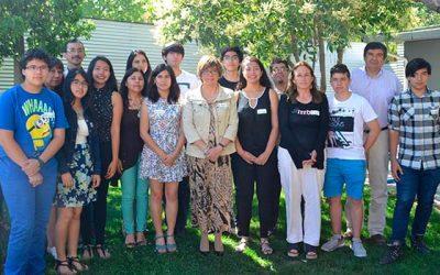 Autoridades comparten con puntajes regionales y méritos académicos PSU proceso 2018