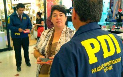 Autoridades efectúan campaña #cuidatutarjeta en centros comerciales de Rancagua