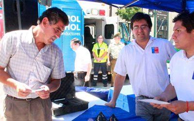Autoridades locales realizan campaña para prevenir accidentes de tránsito