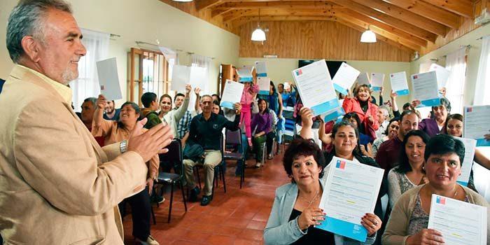 Cien subsidios rurales más para Peralillo
