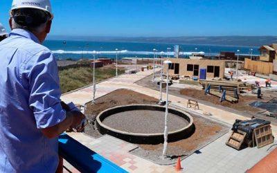 Con un 65% de avance cuentan las obras de mejoramiento del borde costero de Pichilemu