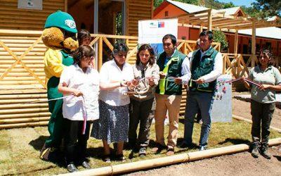 Conaf inaugura dependencias para artesanas de Chacayes en Reserva Nacional Río de los Cipreses