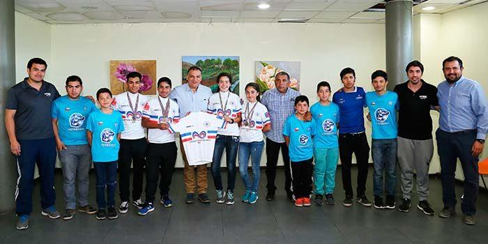 Destacan logros de jóvenes promesas del ciclismo sanfernandino
