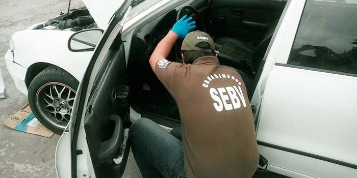 Detenido por receptación de vehículo motorizado