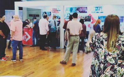 Docentes del Instituto Audiovisual de la UOH exhiben sus trabajos en prestigioso mercado internacional