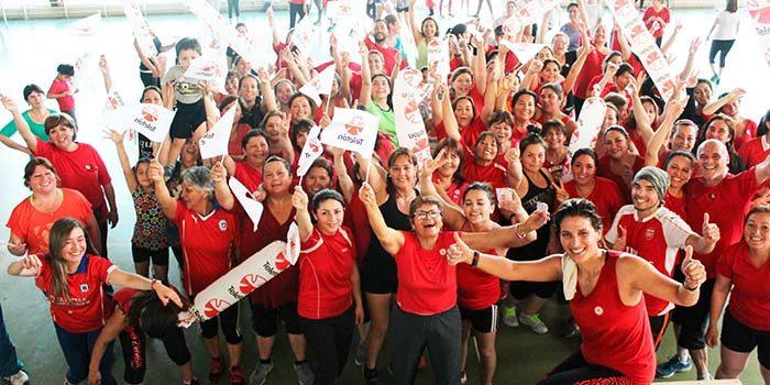 En el marco de la Teletón Rancagua invita a participar en jornadas de actividad física