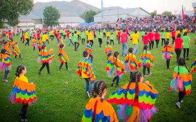 En Palmilla se realiza colorida muestra de coreografías de colegios