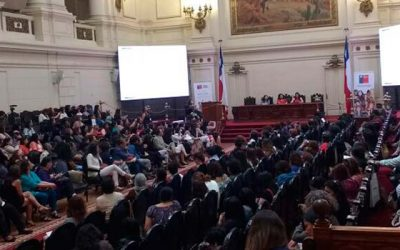 Encuentro nacional área mujer y trabajo de Sernameg Chile