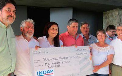 Entrega de incentivos de inversión en innovación agrícola para maiceros 2017