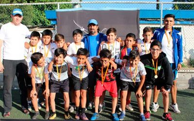 Escuelas municipales de fútbol representarán a Rancagua en importante certamen argentino