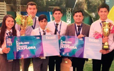 Estudiantes de O'Higgins ganan primer lugar de Congreso Nacional de Ciencias