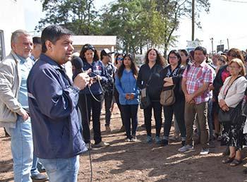 Familias de San Fernando conocieron sus futuros departamentos