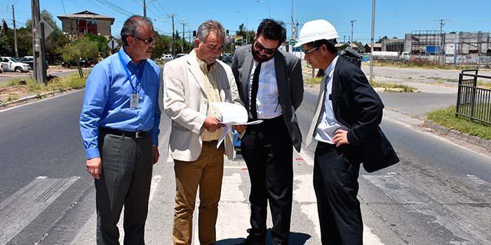 Gobierno inicia obras que cambiarán avenida Kennedy de Rancagua
