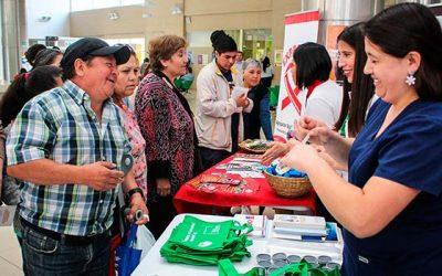 Hospital Regional realiza jornada de difusión y sensibilización contra el SIDA