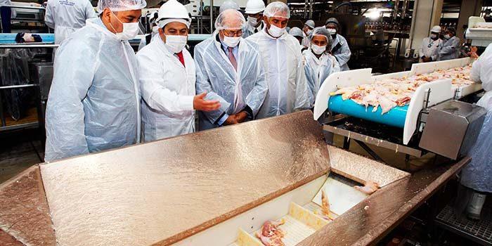 Innovador uso del cobre en planta procesadora de alimentos
