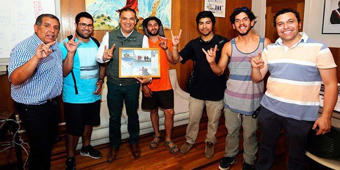Jóvenes andinistas sanfernandinos ascenderán el volcán Tinguiririca