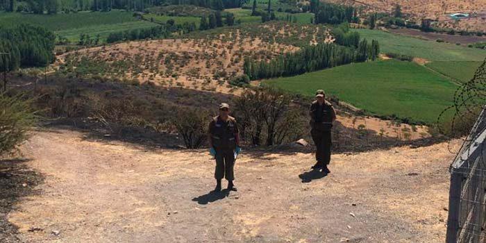 Labocar Rancagua investiga múltiples incendios en la Sexta Región