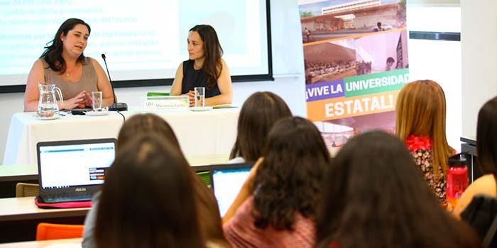 Las políticas de infancia fueron el centro de la discusión en el último foro de la Semana de la Educación Parvularia UOH