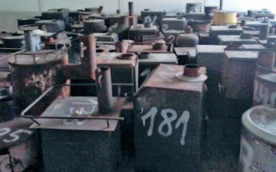 Más de 200 calefactores a leña son chatarrizados en la Región