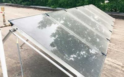 Ministerio de Energía inaugura sistema solar térmico para agua caliente sanitaria en liceo Juan Pablo II de Nancagua
