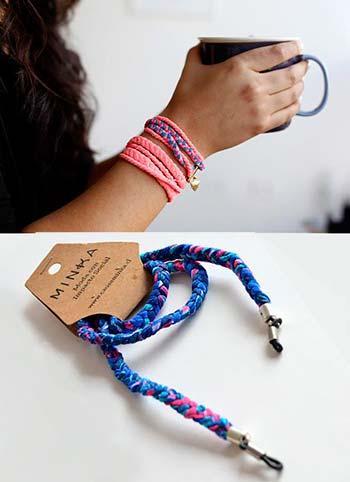 Minka: regalos hechos a mano con material reciclado por mujeres privadas de libertad