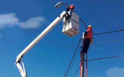 Nuevas luminarias públicas para la comuna de Nancagua