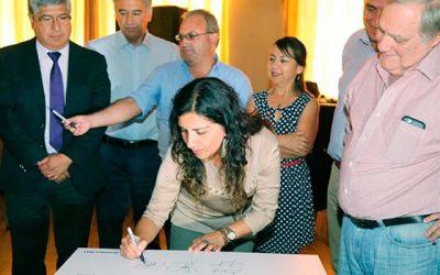 Obras Públicas celebra nueva ley de servicios sanitarios rurales