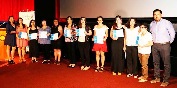 Oficina de la mujer de San Fernando realiza la certificación anual de sus talleres