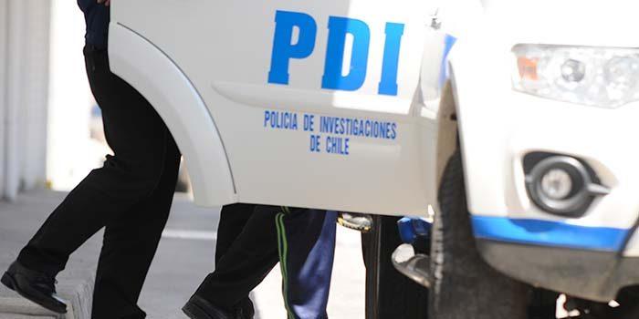 PDI detiene in fraganti a cuidador de autos desvalijando camioneta en Rancagua