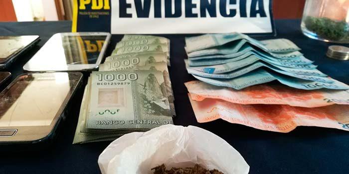 PDI incauta elementos para dosificación de drogas